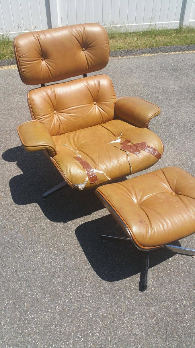 Man Restores Ugly Chair He Bought For $50 Into A Chair You Will Love