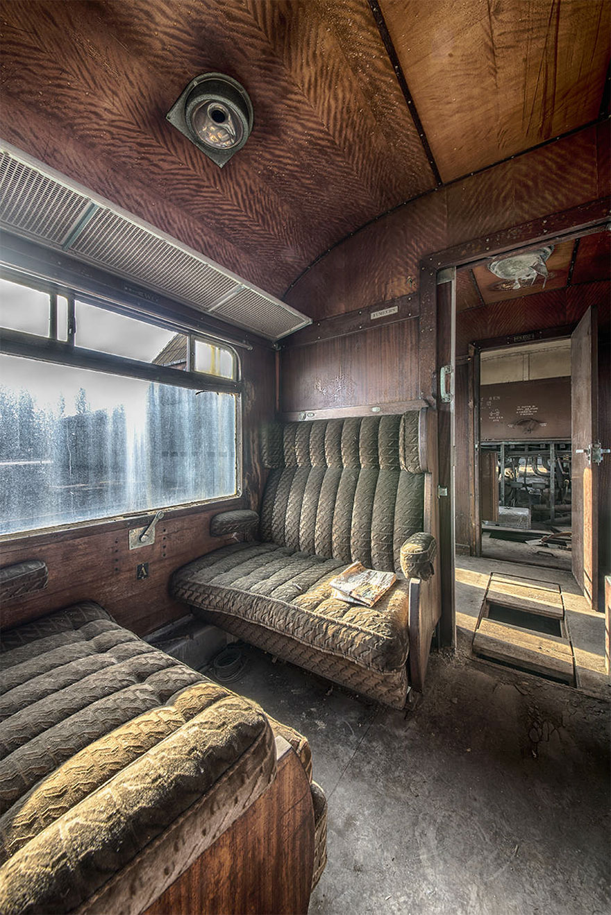 An Abandoned Orient Express Train Reminds Us Of The Luxury Travel Of The Past