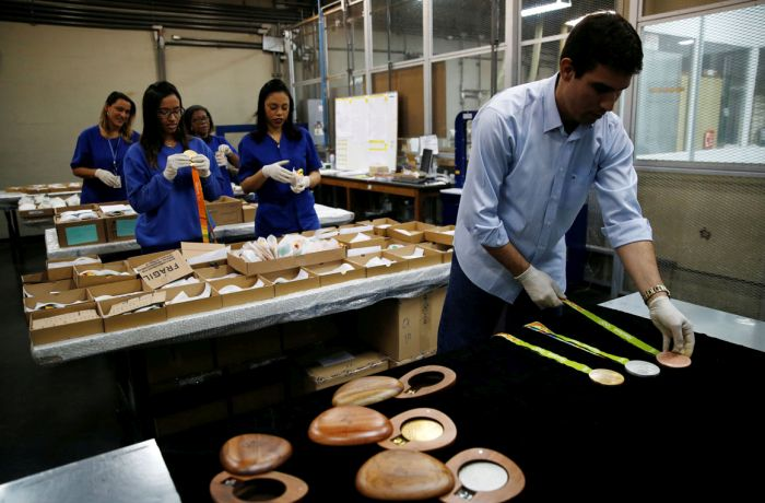 The Amount Of Work It Takes To Make The Olympic Medals Is Seriously Impressive