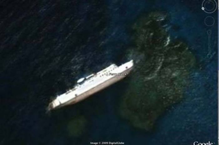 11 Mysterious And Bizarre Things Found On Google Earth