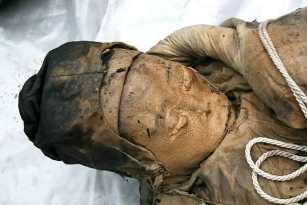 Road Workers Find Eerie Coffin With 700-Year-Old Mummy Inside