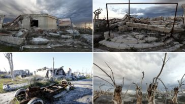 11 Pictures That Show The Eerie Aftermath Of A Town That Was Underwater For Over 30 Years