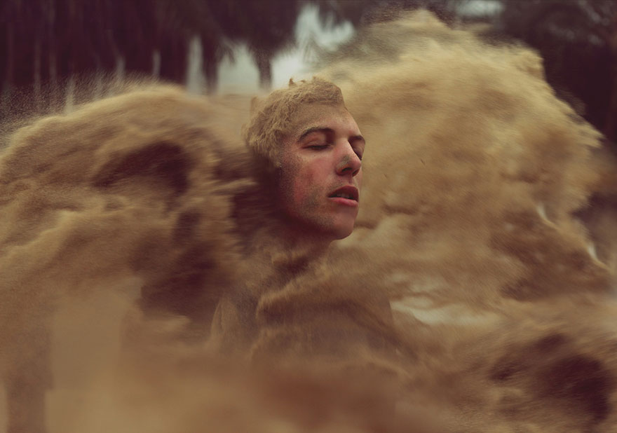 Young Photographer Quits School To Create Surreal Self Portraits