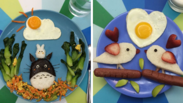 Mother Of Four Loves To Make Creative Sunny-Side Up Eggs For Breakfast (9 Pics)