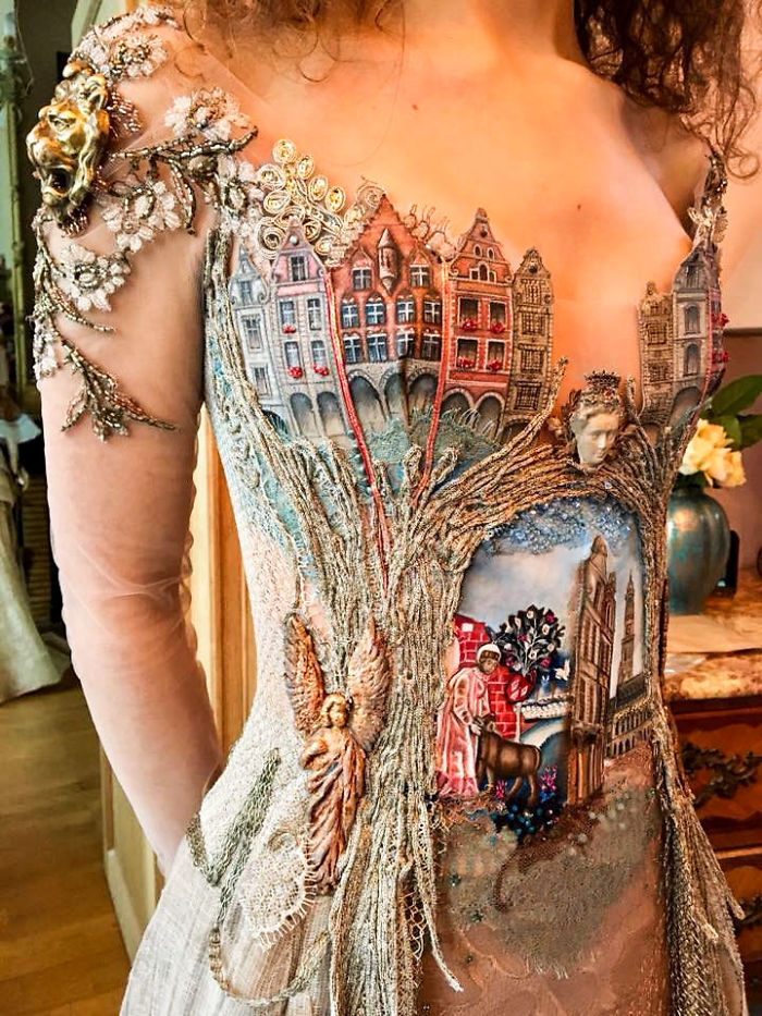 This French Designer Creates Dresses That Are Out Of A Fantasy World
