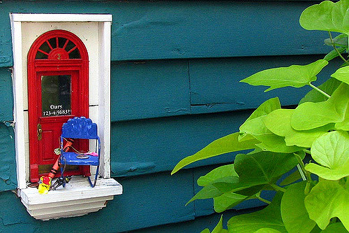 Town In Michigan Has A Subculture Of Tiny Doors Called 'Fairy Doors'