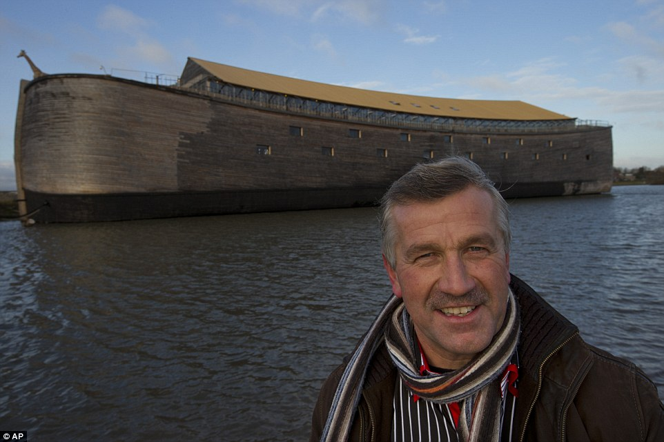 Dutch Millionaire Builds Exact Replica Of Noah's Ark After Having Flood Dream
