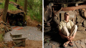 Meet The Man Who Lives In A Real-Life Hobbit Hole