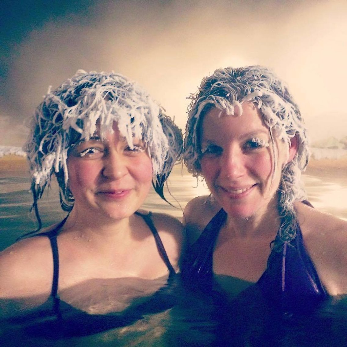 It Gets So Cold In Canada, They Actually Have Hair Freezing Contests