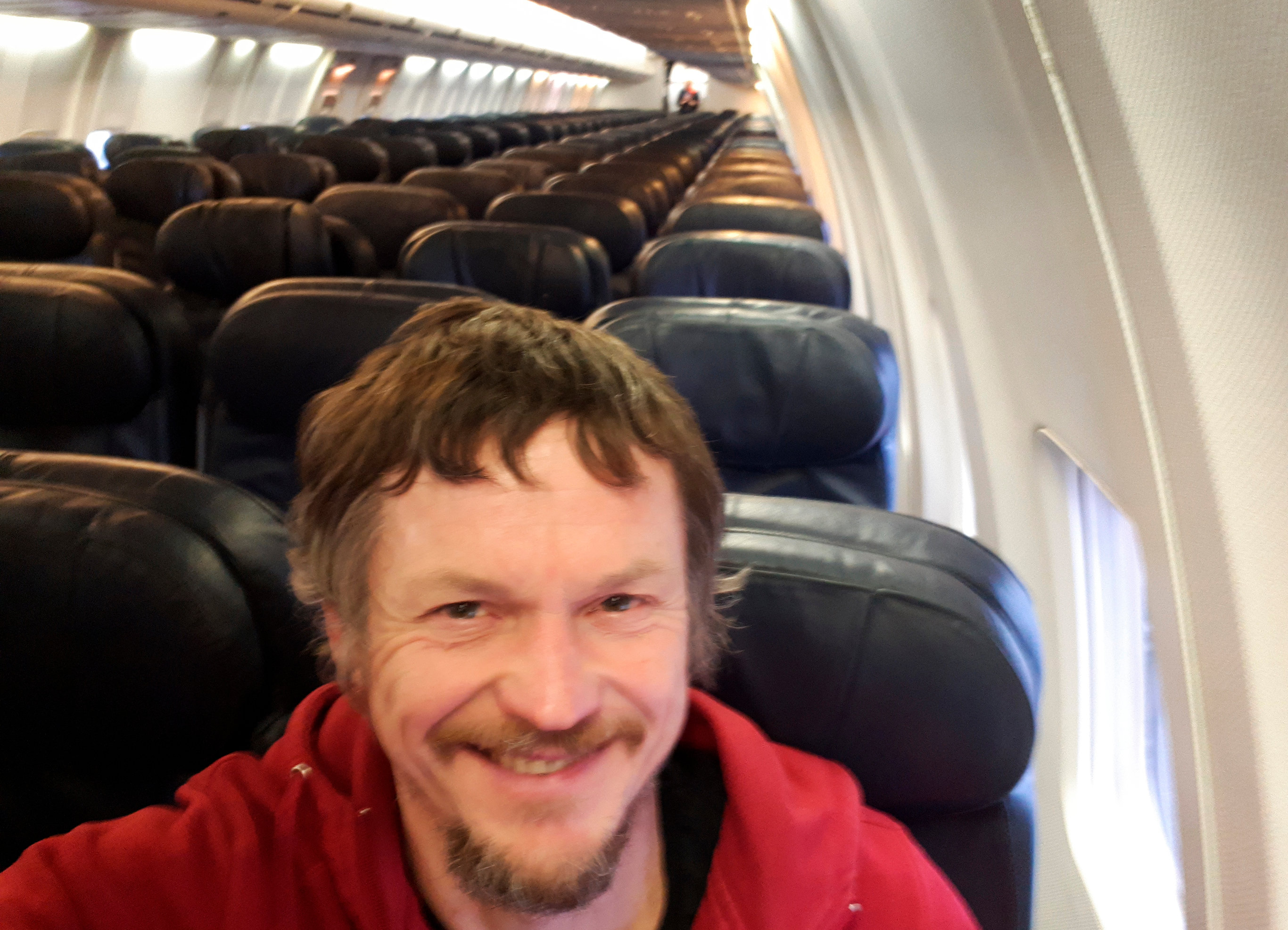 Man Boards 188-Passenger Plane To Discover He's The Only Passenger On The Flight
