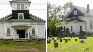 Church Converted Into Home For Sale, Comes With Spacious Graveyard