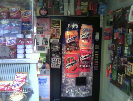 This Soda Machine In A Boston Deli Opens Up To An Upscale Secret Store