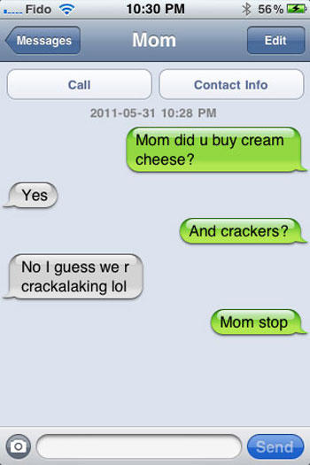 18 Of The Funniest Texts From Parents Ever