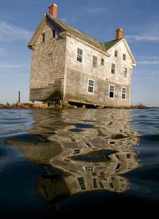 The Last House On The Island That Disappeared Into The Chesapeake Bay