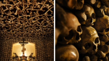 Church In Poland Is Decorated With Over 20,000 Real Human Skeletons