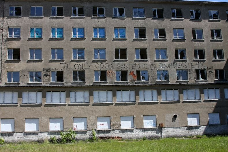 The 10,000 Room Beachfront Nazi Hotel That Has Never Had A Single Guest