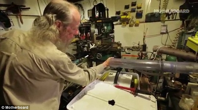 Man Builds Nuclear Reactor In His Basement With Random Parts He Had Lying Around