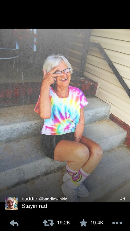 This 86-Year-Old Is The Coolest Great-Grandmother On Instagram