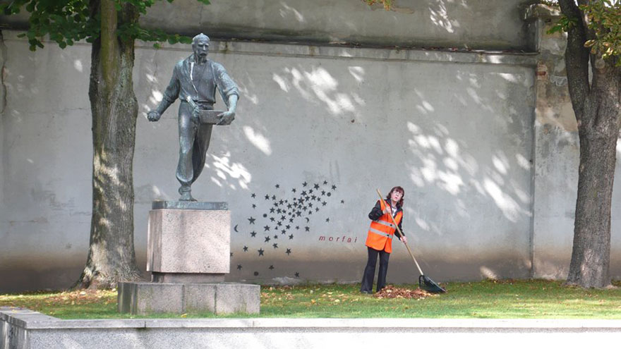 27 Pieces Of Clever Street Art That Blend In Perfectly With Their Surroundings