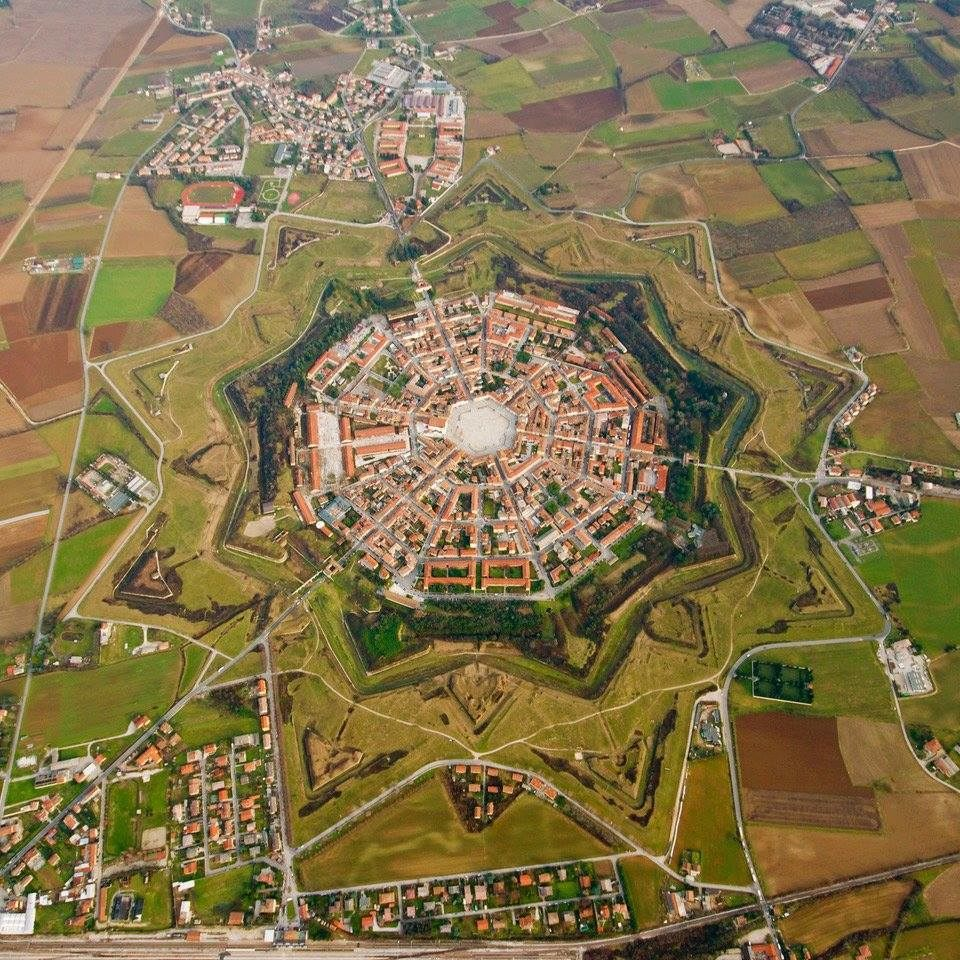 This Fortress Town Is The Most Perfect Shaped Town In The World