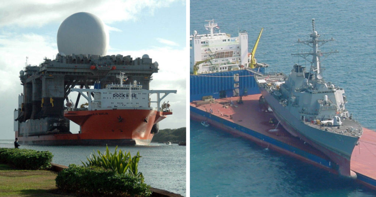 This Heavy Lift Ship Is A Giant Ship That Ships Other Ships