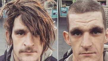 Barber Gives Free Haircuts To The Homeless On His Day Off