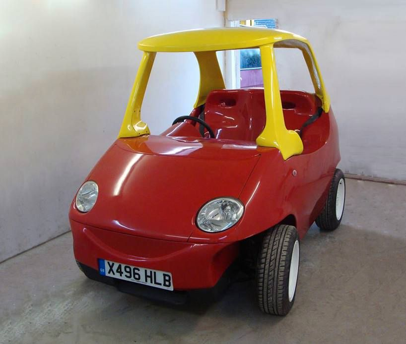 This Adult Version Of The Little Tikes Toy Car Is Legal And Goes Up To 70MPH
