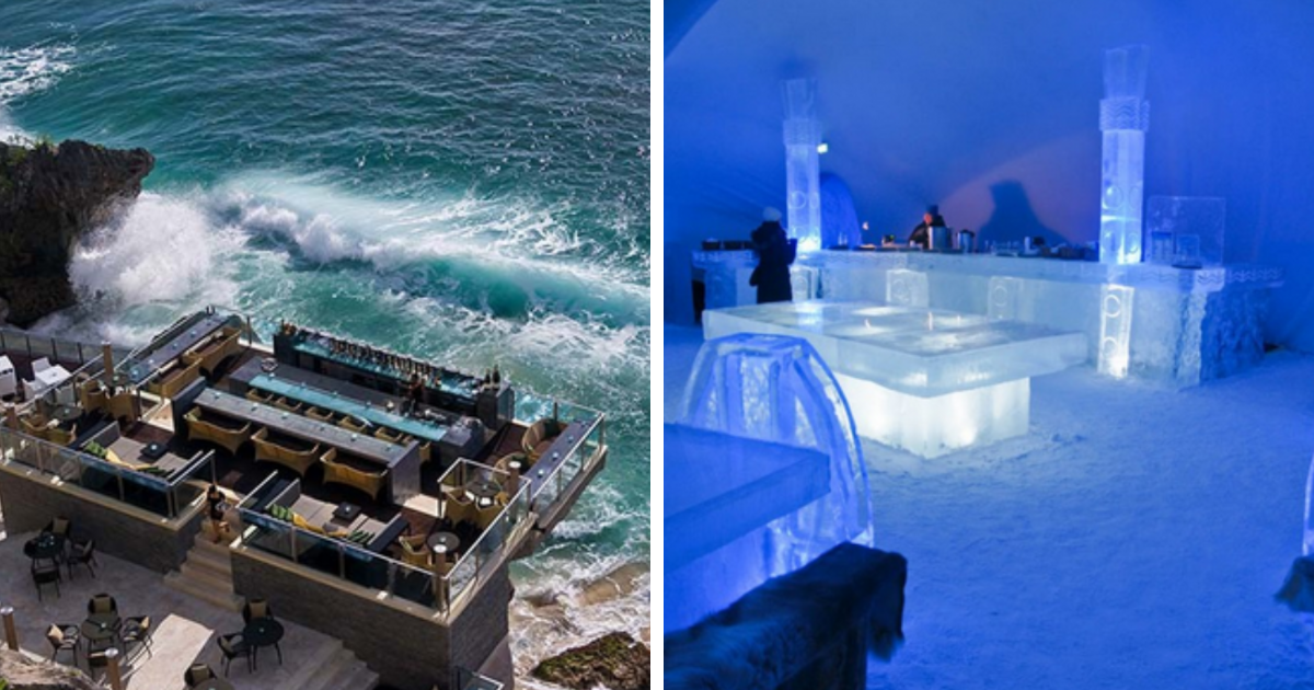 24 Bars Around The World You Should Drink At Before You Die