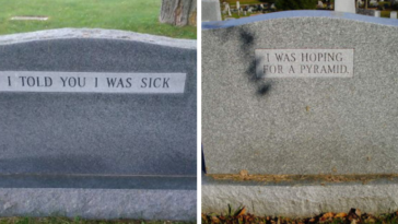 30 Brilliant Tombstones By People Whose Sense Of Humor Will Live Forever