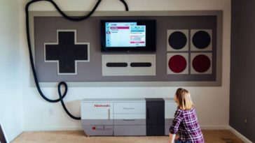 Dad Builds Game Room That Any Old School Gamer Would Love
