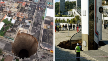 34 Times The Earth Decided To Swallow Up Everything