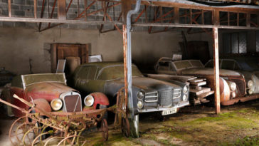 60 Vintage Cars Worth $15 Million Found After 50 Years Of Neglect
