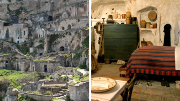 There Is A City Hidden In The Caves Of Italy That Is Over 9,000 Years Old