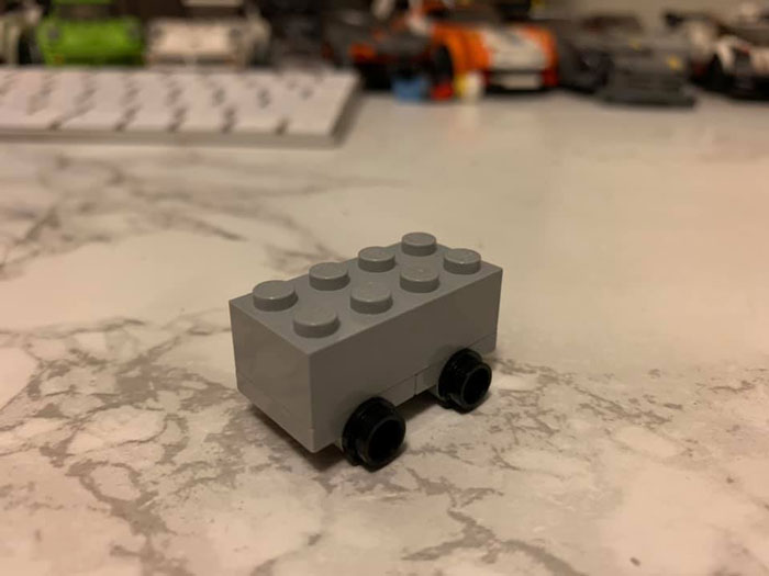 LEGO Trolls Tesla With Their Own Shatterproof Truck Design And It's Hilarious