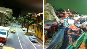 It Took 15 Years For This Grandpa To Build A Detailed Model City Of Town He Grew Up In