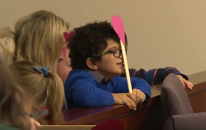 5-Year-Old Boy Invited His Entire Kindergarten Class To His Adoption Hearing And It's Adorable