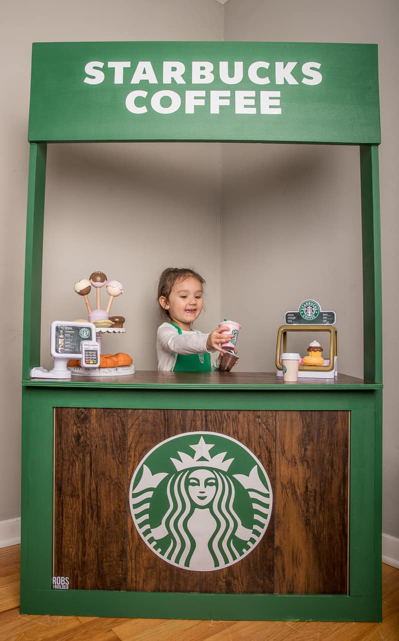 Mom Builds Daughter A Playroom That Looks Just Like Target And Starbucks, Goes Viral