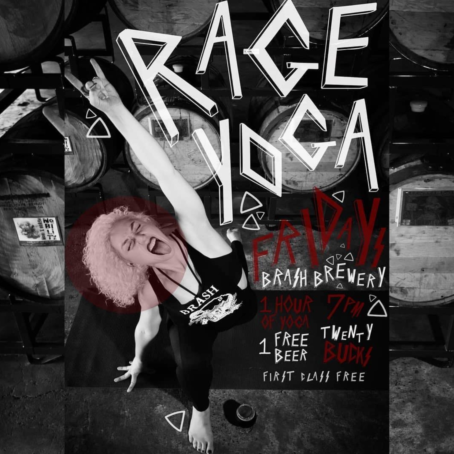 'Rage Yoga' Calms You Down By Drinking Beer And Swearing