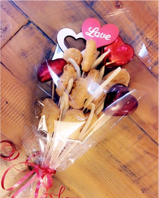 You Can Now Give Your Loved One A Bouquet Of Chicken Nuggets For Valentine's Day (32 Pics)