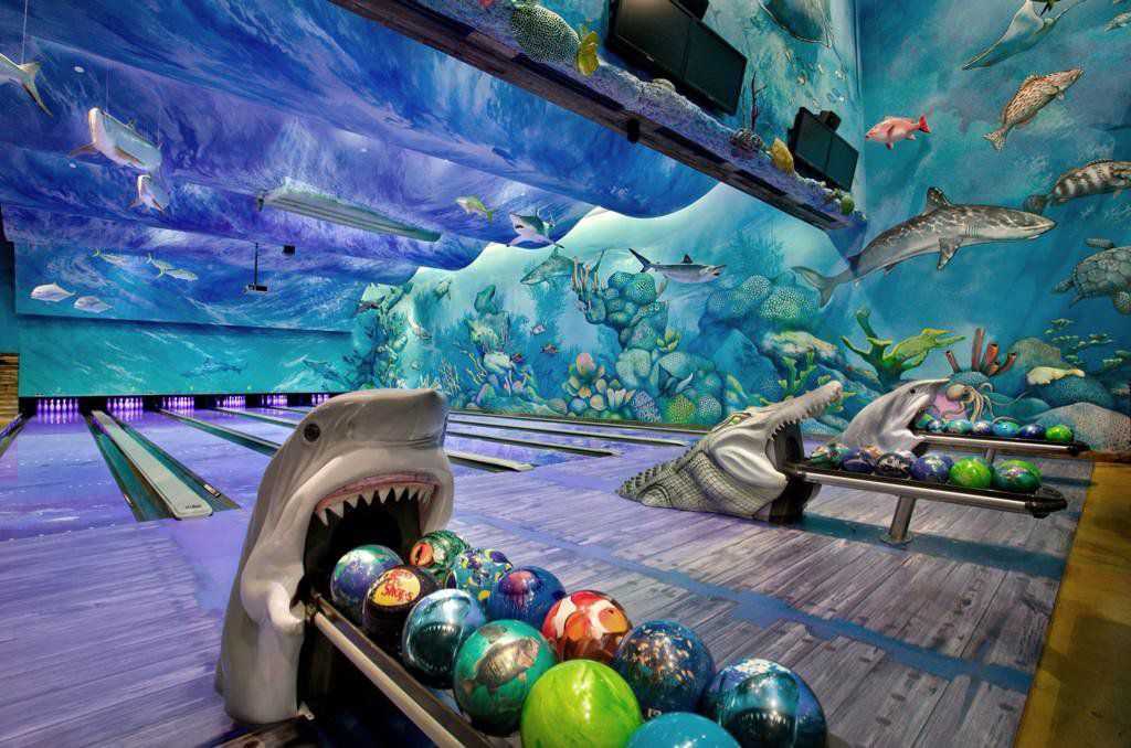 You Can Go Bowling In An Underwater Aquarium With Sharks And Sea Turtles