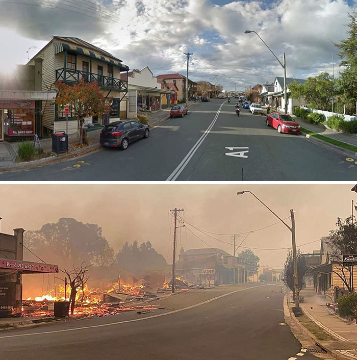 21 Before And After Photos That Show How Much Damage The Australian Bushfires Have Done