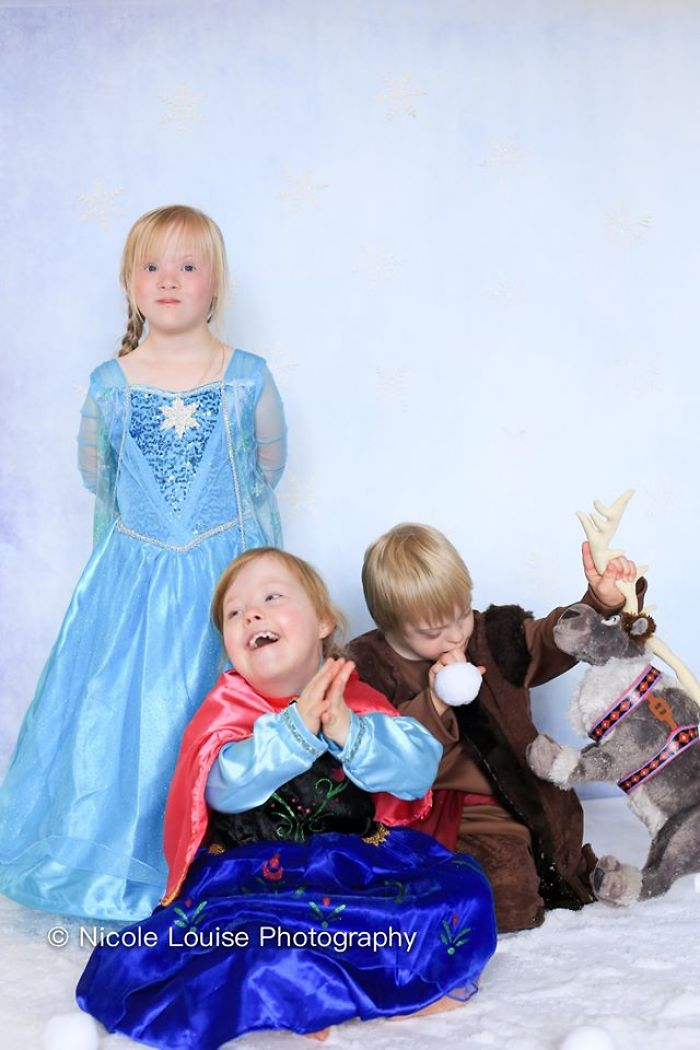 Kids With Down Syndrome Posing As Disney Characters Goes Viral