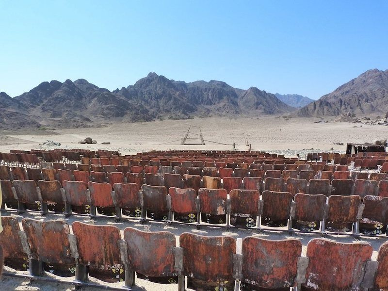 Mysterious 'End Of The World Cinema' Was Built In The Egyptian Desert For An Audience That Never Came