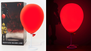 You Can Buy A Spooky 'IT' Balloon Lamp For $37