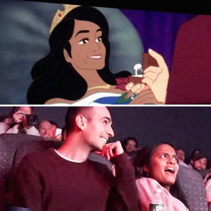 Man Hacking His Girlfriend's Favorite Disney Movie To Include A Proposal Might Be The Best Proposal Ever