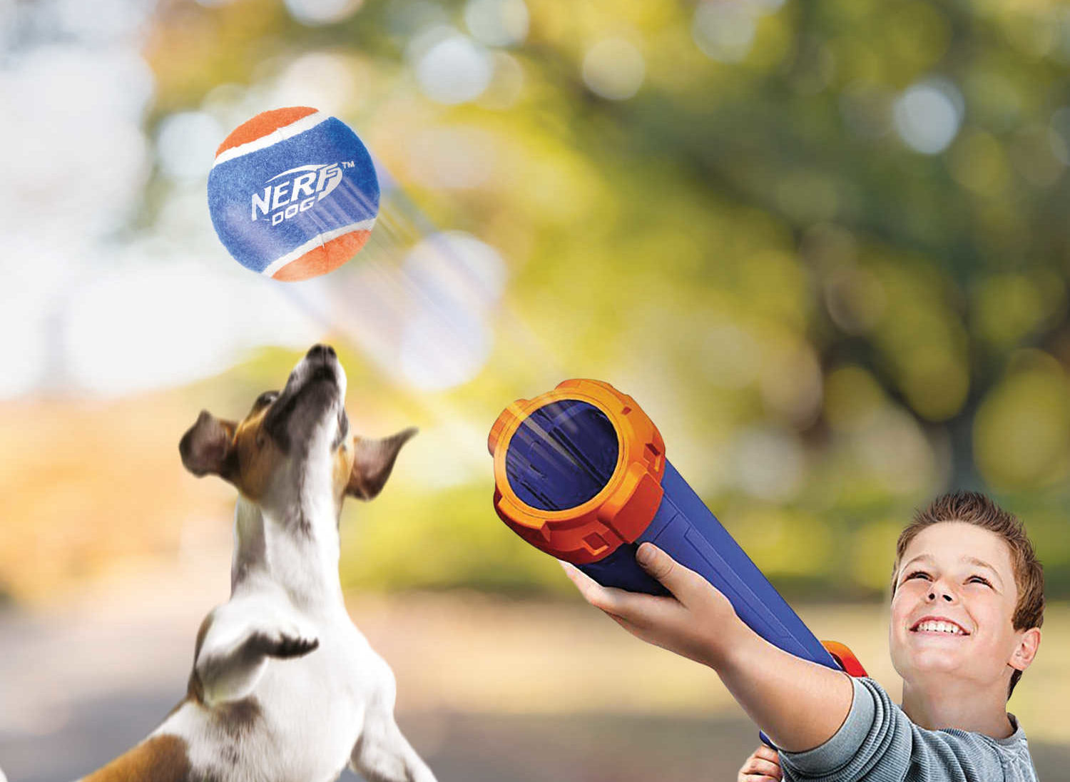 You Can Finally Buy A Nerf Tennis Ball Launcher For Your Dog