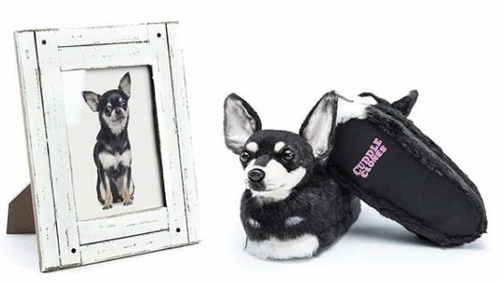 You Can Now Order Custom Slippers That Look Exactly Like Your Dog