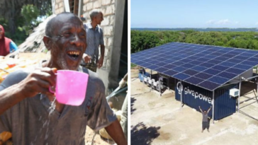 Kenya Installs Their First Solar Plant That Transforms Ocean Water Into Drinking Water