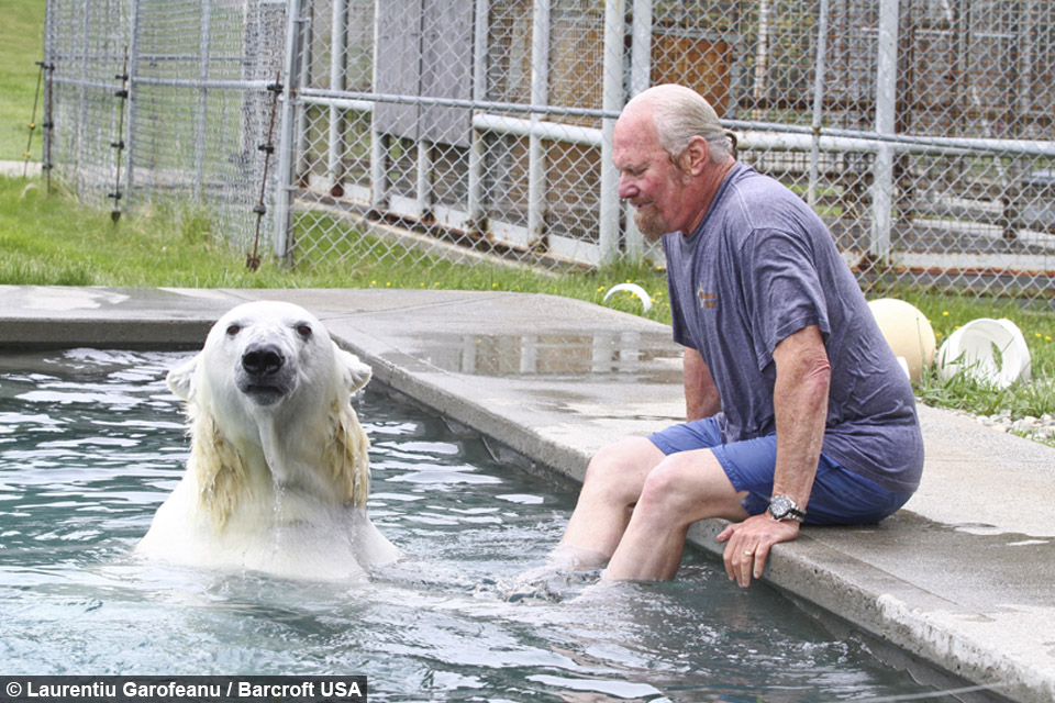 Meet The Man Who Shares His Home And Bed With A Polar Bear