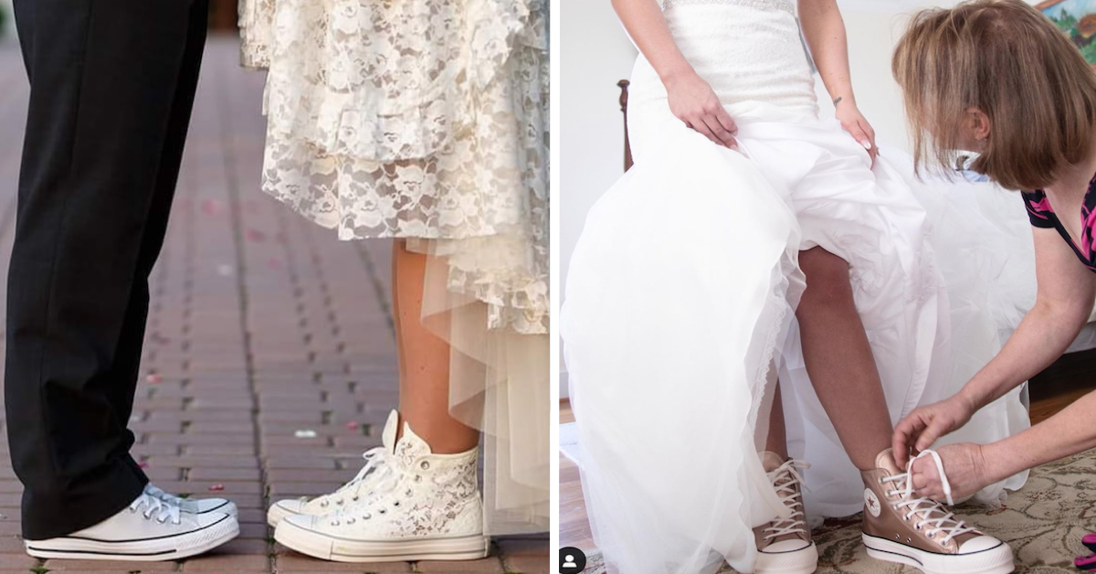 Converse Launched A Wedding Shoe